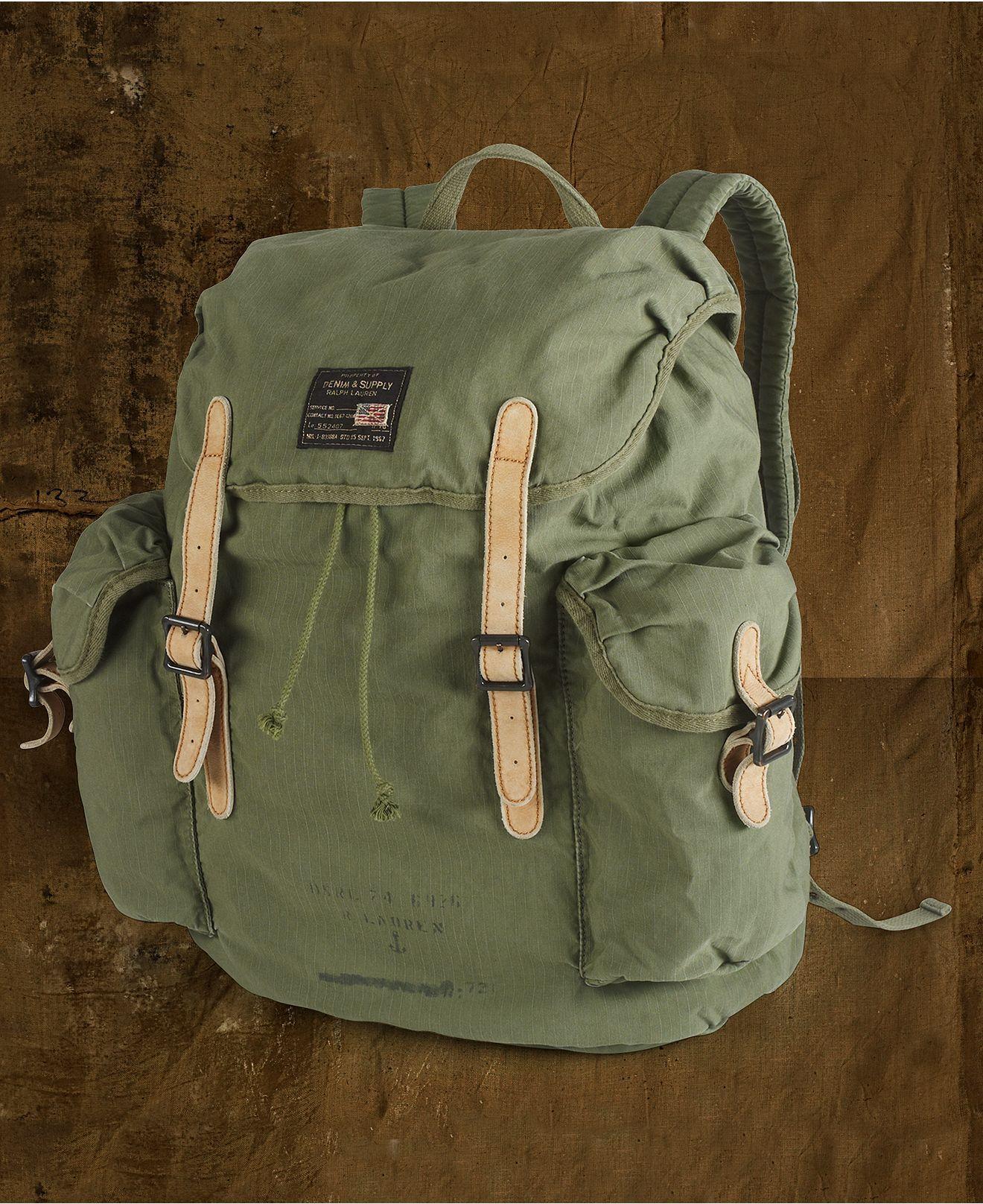 Denim   Supply Ralph Lauren Bag 4982f2f69db62
