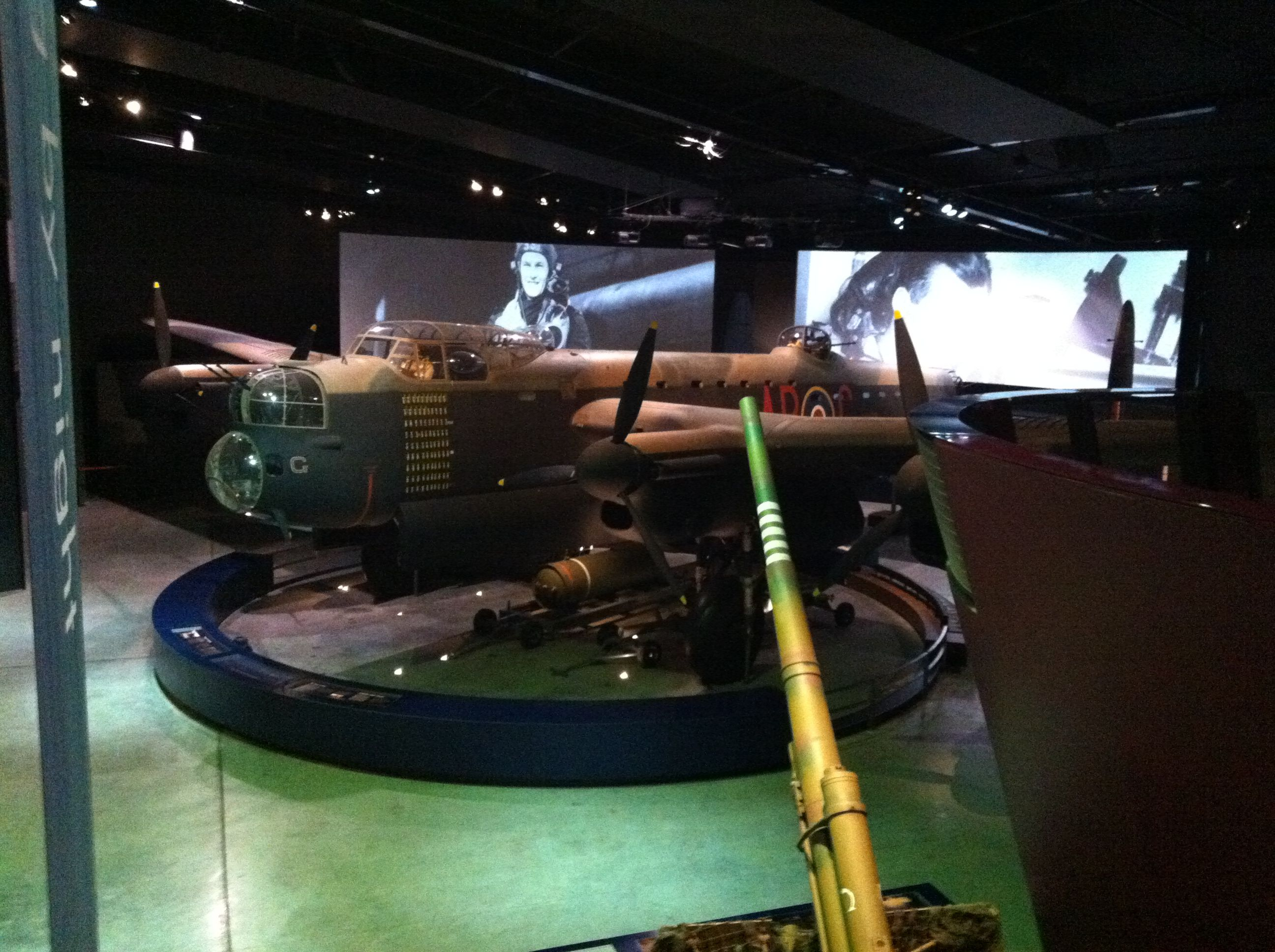 Australian War Memorial humanbrochure Lancaster bomber