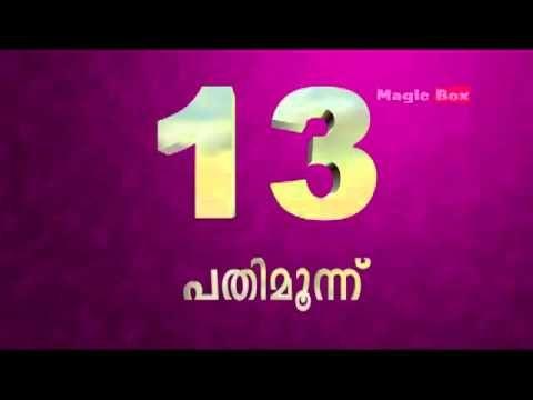 Numbers - Malayalam Padikkam - Preschool topics in Malayam ...