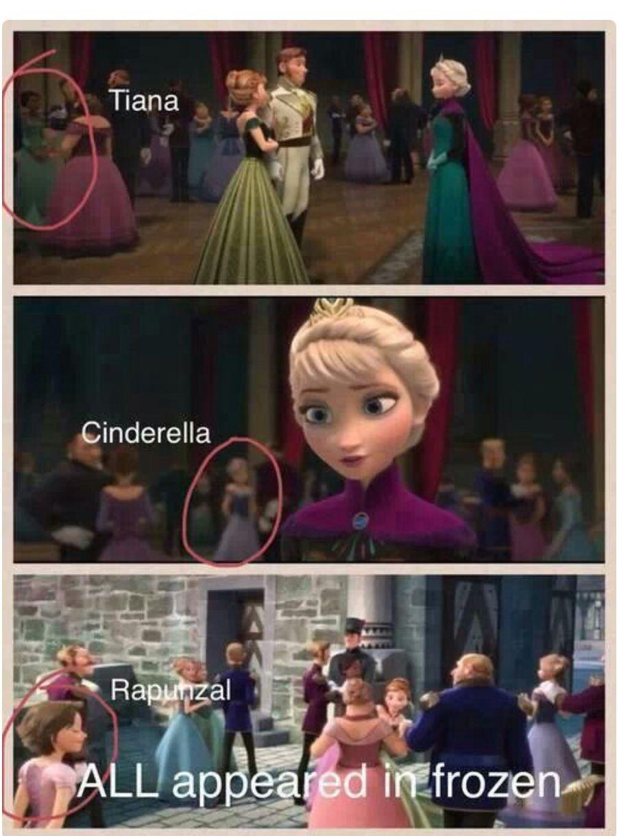 in rapunzel Frozen movie
