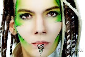 permanent face art