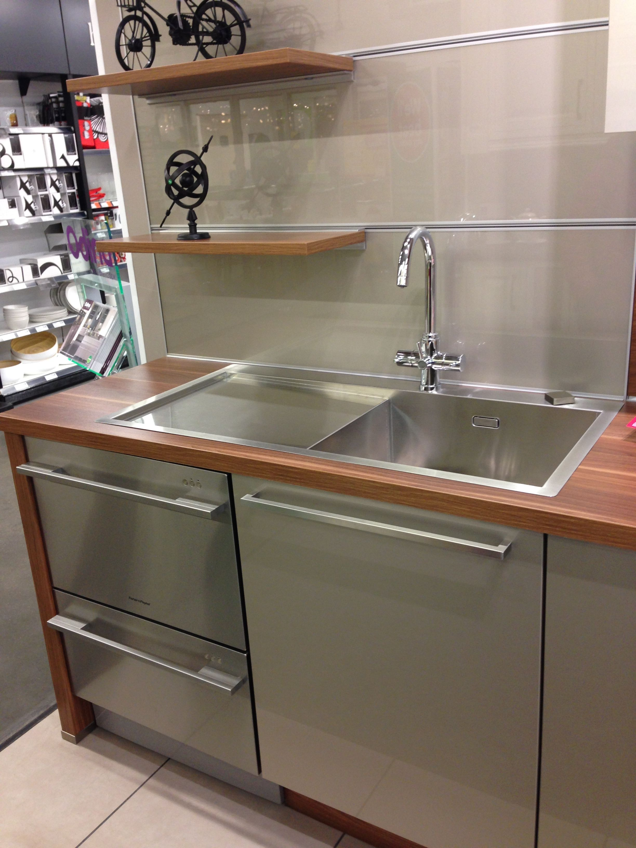 Odina german custom made kitchens shown here with an for German kitchen sinks