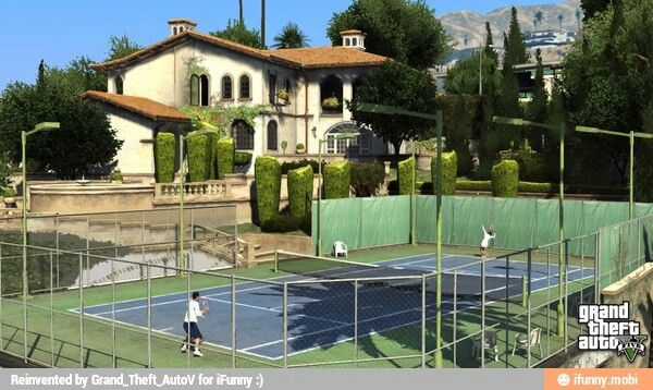 Tennis Time With Amanda And Michael Grand Theft Auto Gta Realistic Games
