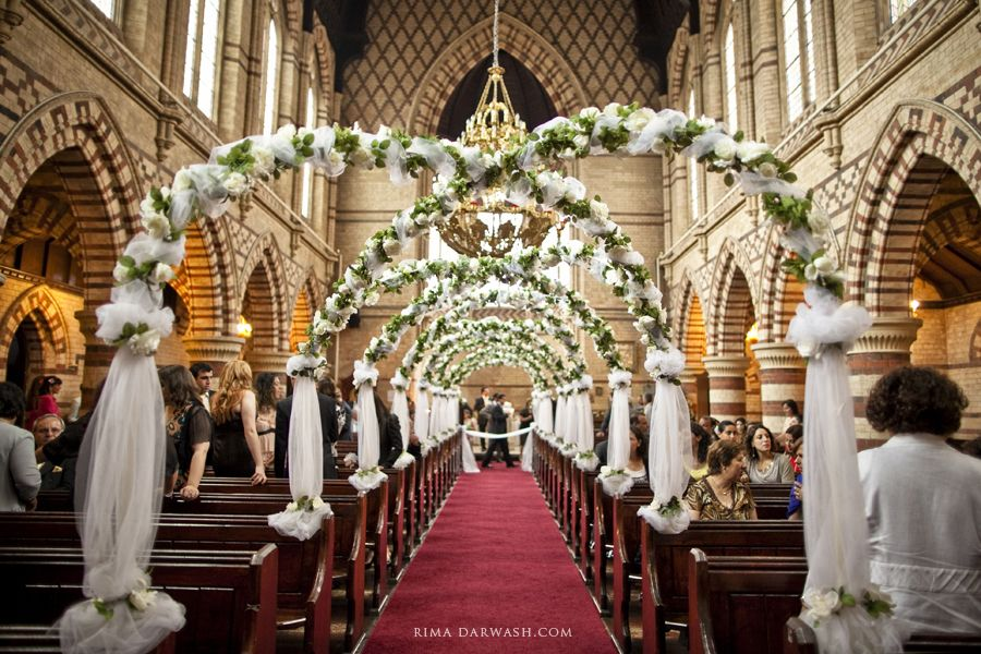 Unique Church Wedding Decoration Ideas: Great For An Aisle For A Wedding