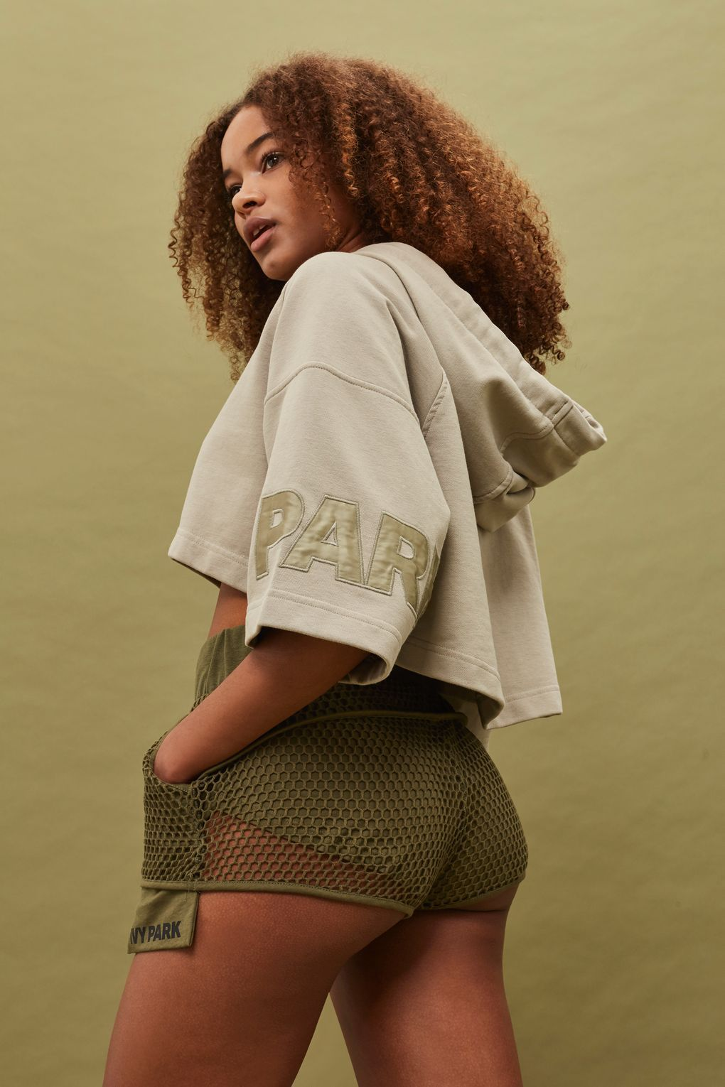 Croped Hoodie by Ivy Park  bb663f99f