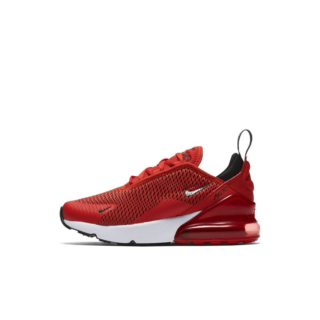 336460b231d Nike Air Max 270 Little Kids  Shoe Size 12.5C (Habanero Red)