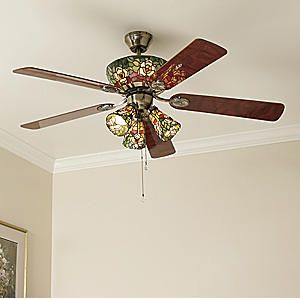 Magnolia ceiling fan just love it pinterest ceiling fan magnolia ceiling fan tiffany glasstiffany mozeypictures Gallery