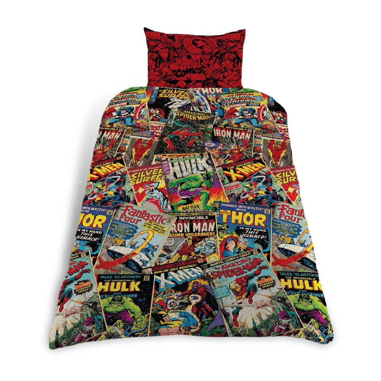 Marvel Comics Bettwäsche 137x198 Amazonde Spielzeug Avengers