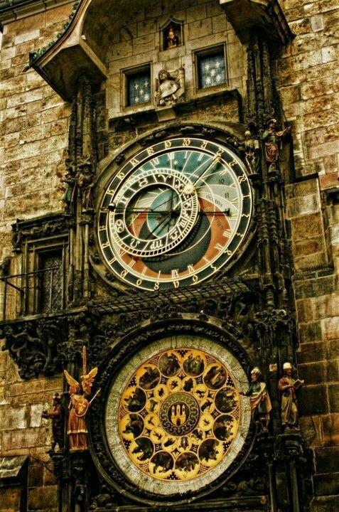 Reloj de la astrología