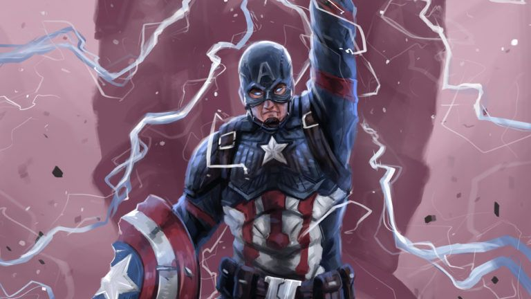 Download 4k Wallpapers Of Captain America Art 4k Wallpapers Artwork Wallpapers Captain America Wal Captain America Art Captain America Wallpaper America Art Captain america wallpaper hd 4k