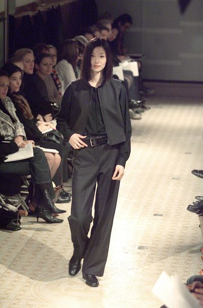 Hermès at Paris Fashion Week Fall 2001