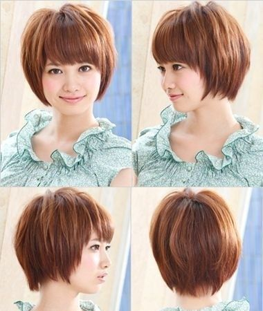 Most Popular Asian Hairstyles For Short Hair Popular Haircuts Short Hair Styles For Round Faces Asian Short Hair Short Hair Styles 2017