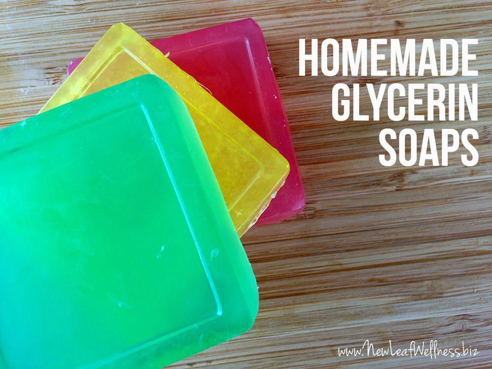 How to make homemade glycerin soaps Using essential oils