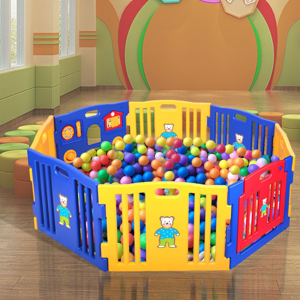 Toys for kids 8 and up  New Pen Baby Playpen Kids  Panel Safety Play Center Yard Home
