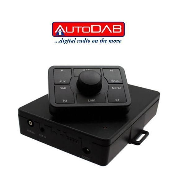 autodab connect universal fm add on in car digital radio. Black Bedroom Furniture Sets. Home Design Ideas