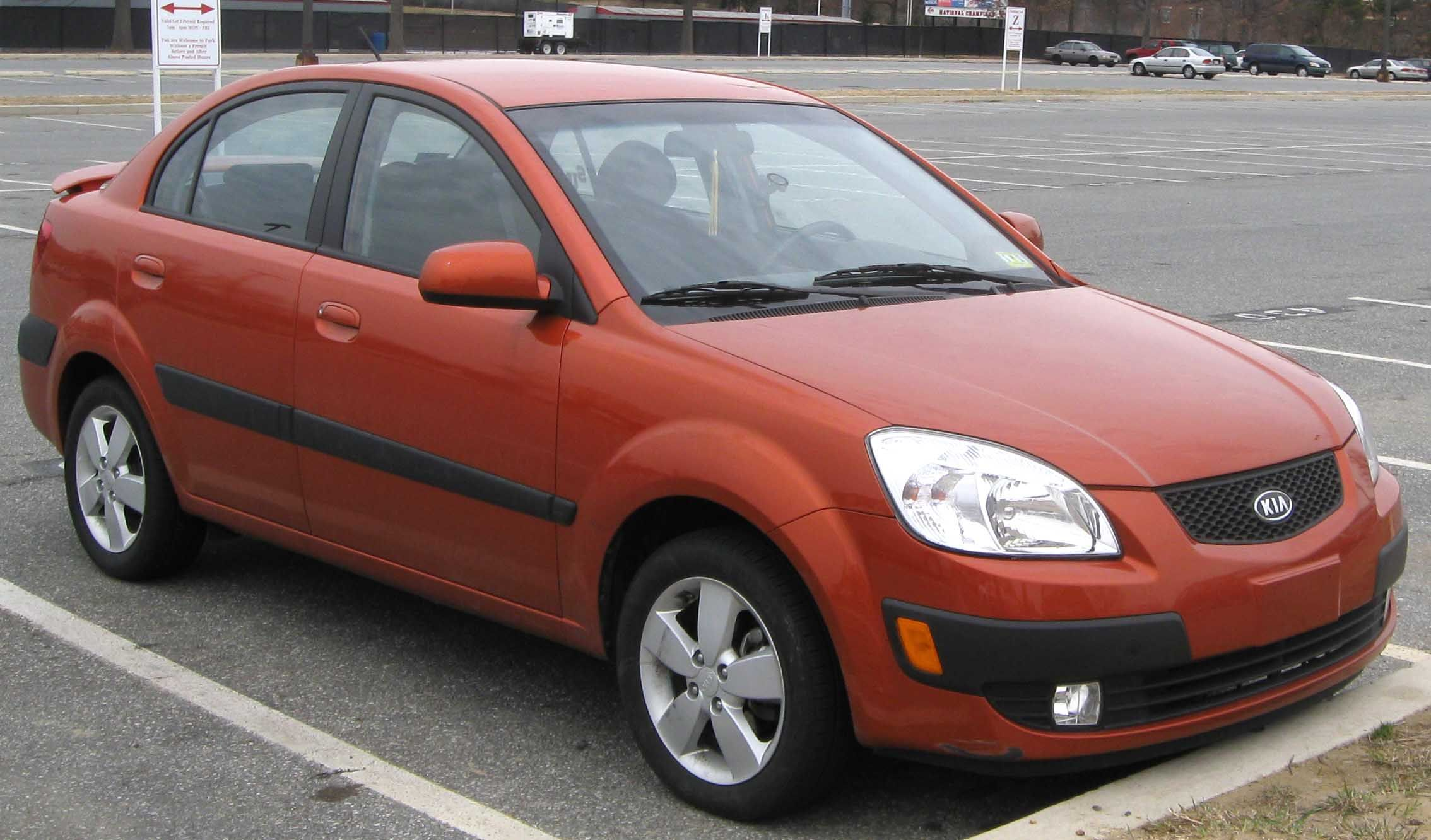 Premium quality Kia Rio reconditioned engine available in