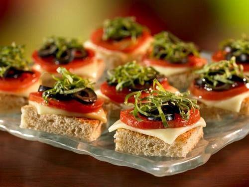Вкусные и оригинальные бутерброды на праздничный стол, для ...