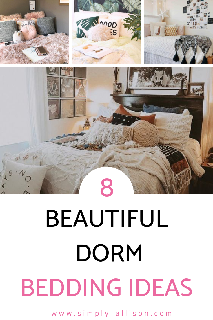 Design Your Dorm Room.8 Cute Dorm Room Bedding Ideas You Need To Copy College