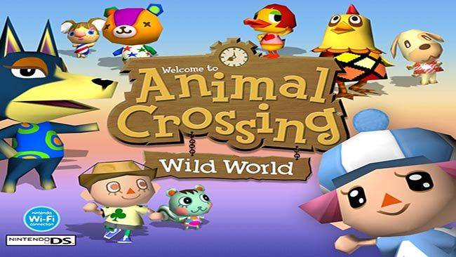 Animal Crossing Wild World Nds Rom Usa Eur With Images