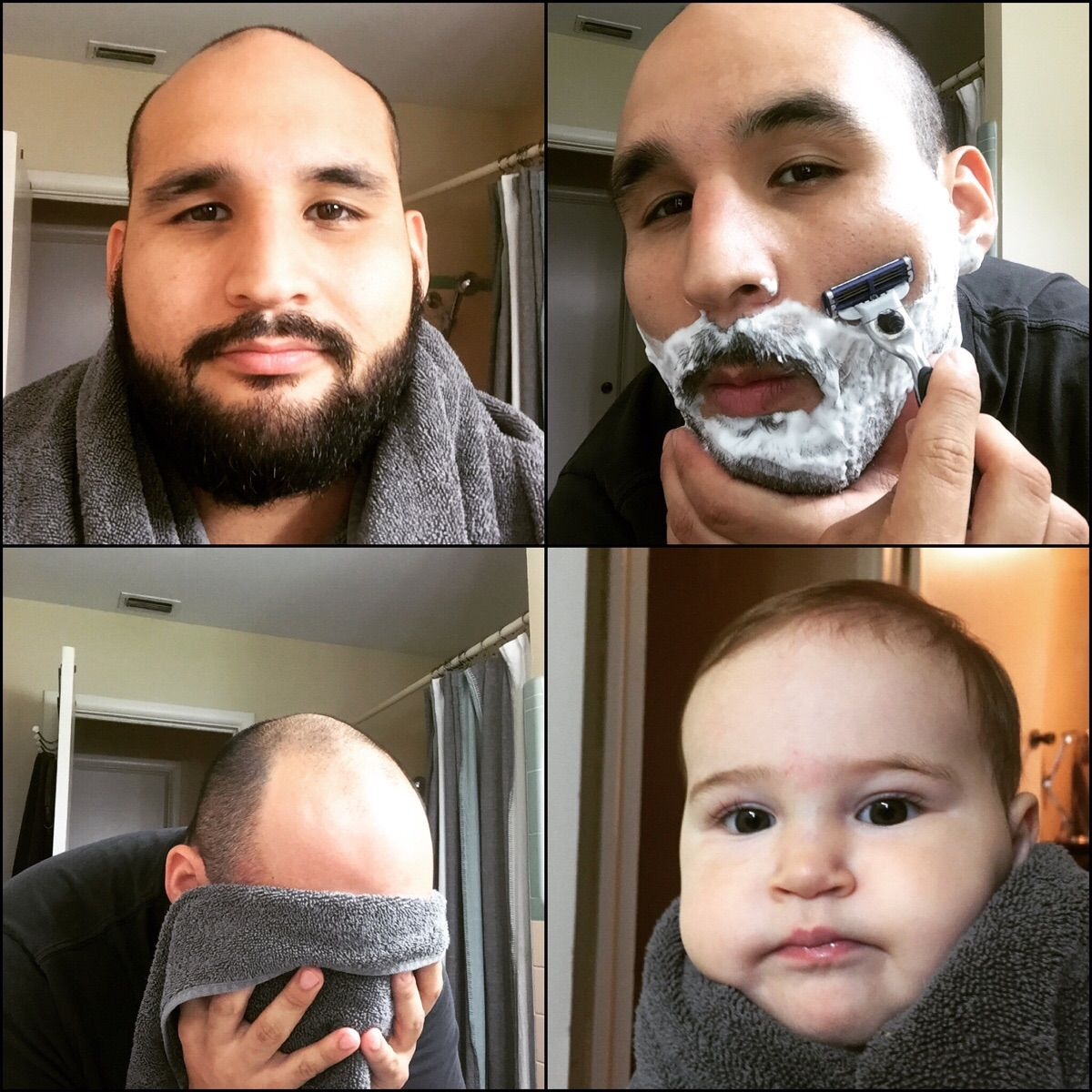 A Clean Shave Takes Years Off Funny People Pictures Funny Pictures People Around The World