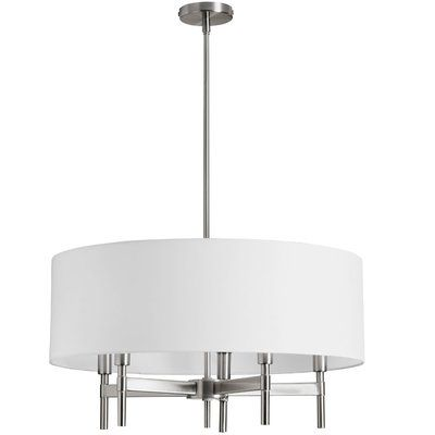 Youll love the blown 5 light drum chandelier at wayfair great deals