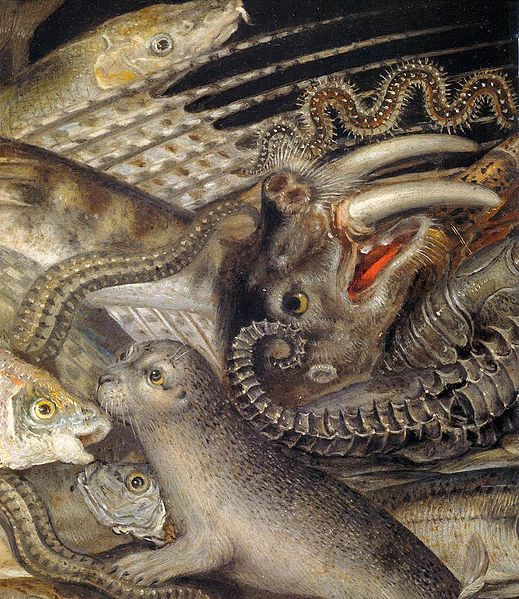 Giuseppe Arcimboldo - Water (detail)  #arcimboldo #paintings #art
