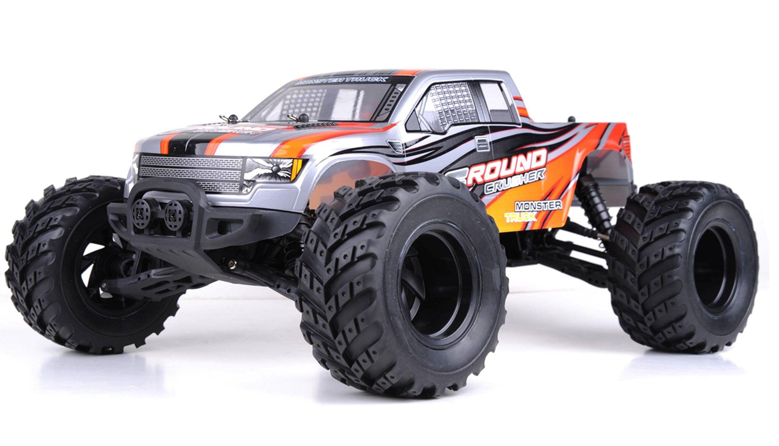 Hbx Monstertruck 1 12 M 112 2 4 Ghz Rtr 2wd Monster Trucks Fahrzeuge Fahrwerk