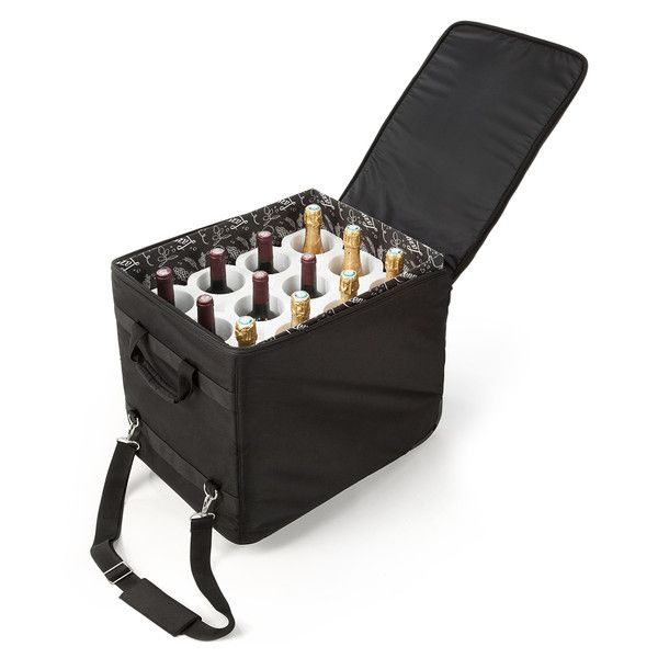 The Wine Check Luggage Lazenne Bottle Protector For 12 Large Bottles Bottle Carrier Wine Travel Case Checked Luggage