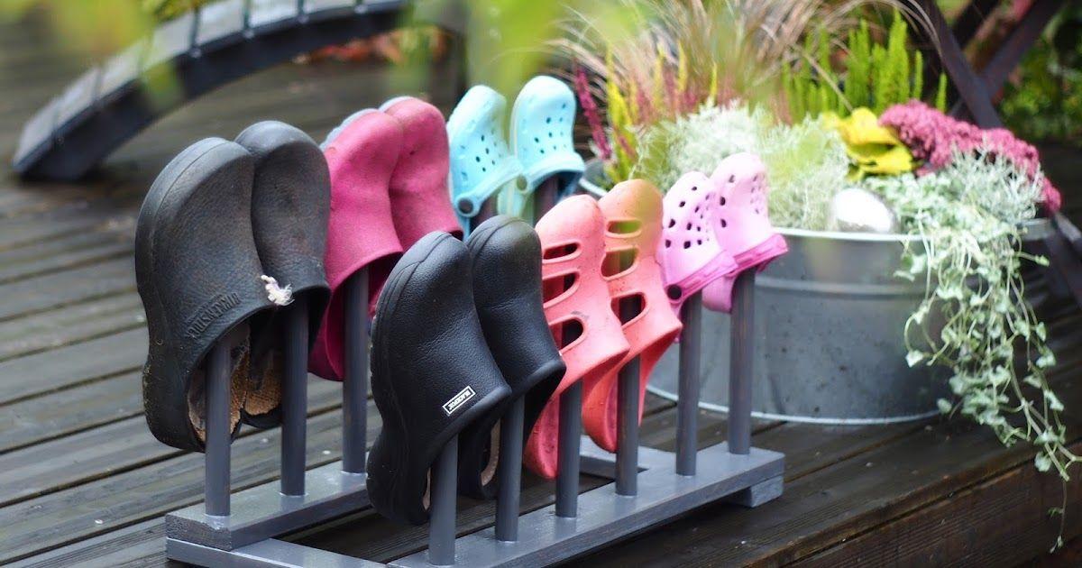Schuhhalter Stiefelknecht Gartenschuhhalter Diy Cloghalterung Garten Aufbewahrung Aufbewahrung Garten Gartenschuhe Aufbewahrung Terrasse
