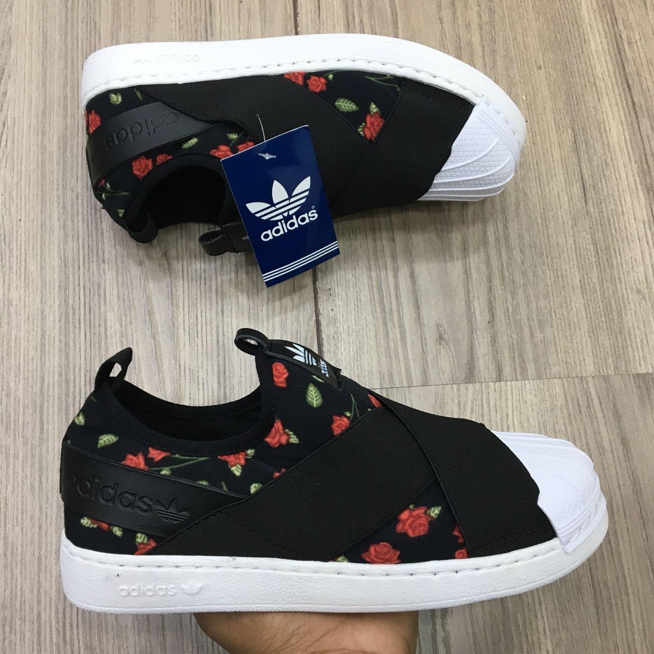 87a0fbe3da1 Adidas Superstar Slip On Florido ❤
