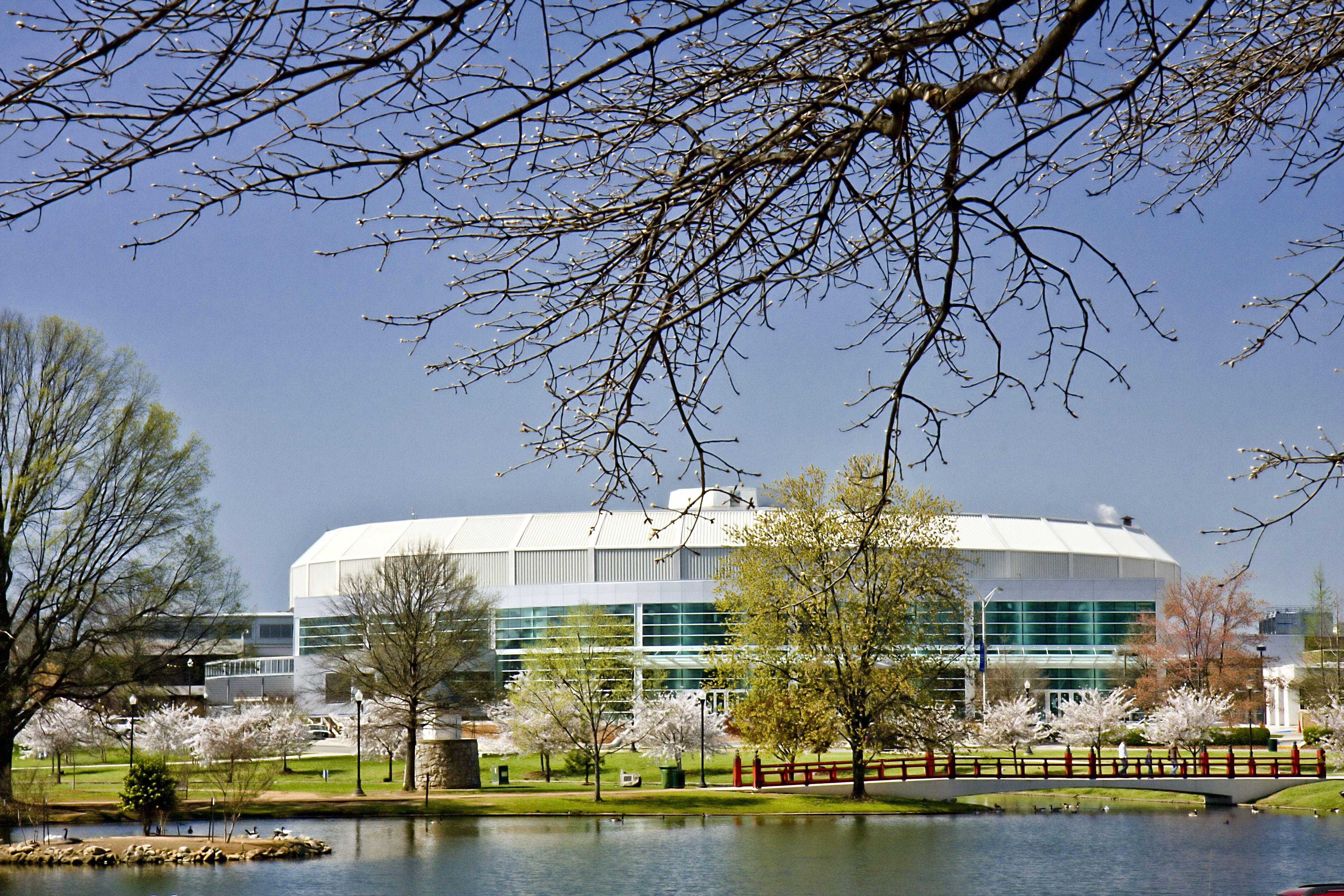 Von Braun Center In Big Spring International Park Visitors