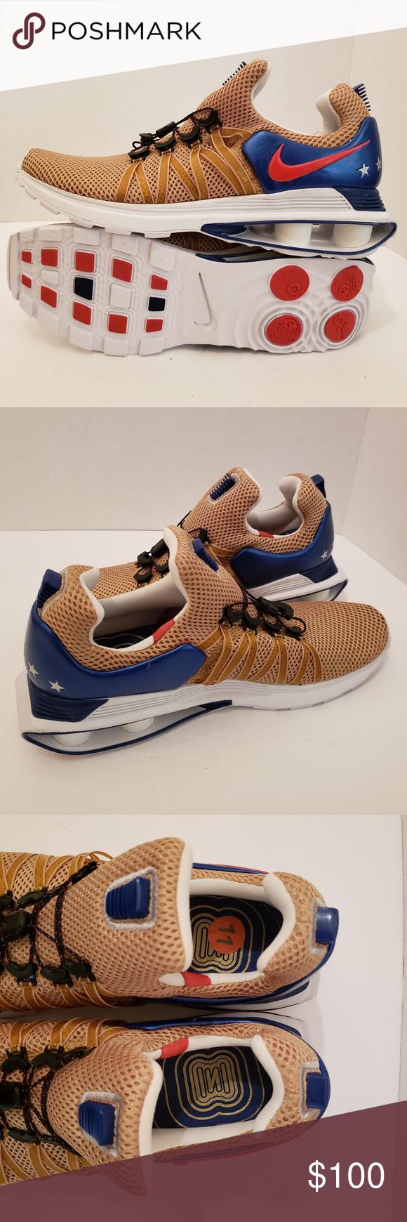 Nike Shox Gravity Mens Running Shoes Sizes 9.5 e4f879200