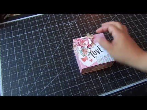 Matchbox Tutorial for your Washi Tapes