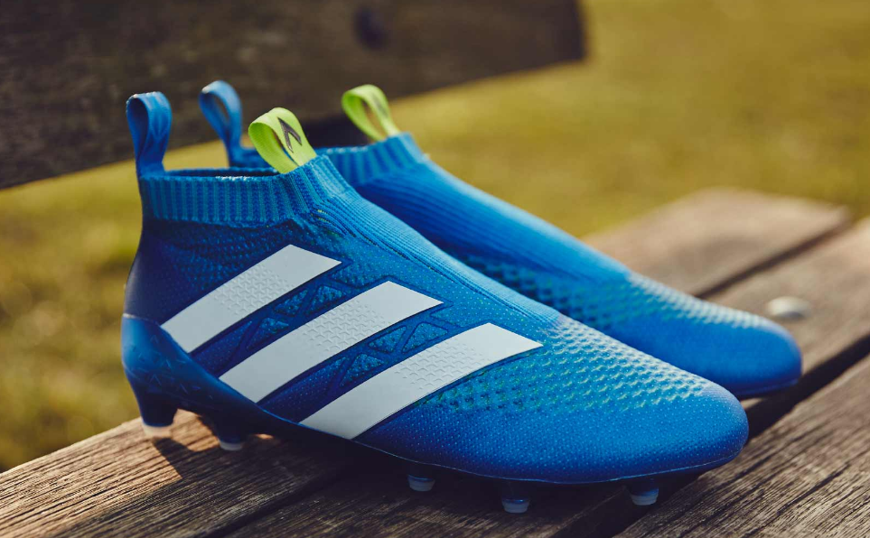6d4511506 Shock Blue Adidas ACE 16+ Purecontrol