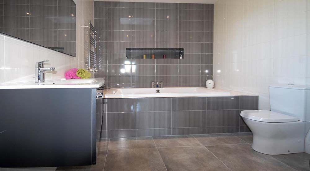 Bathroom Tiling Dark Grey White Glazed Tiles Grey Bathroom Wall Tiles Ceramic Tile Bathrooms Blue Bathroom Tile