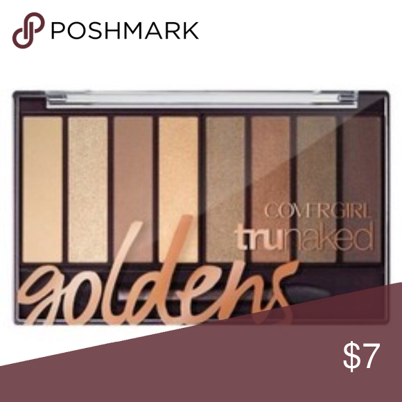 Covergirl TruNaked Eyeshadow Palette Goldens New in sealed