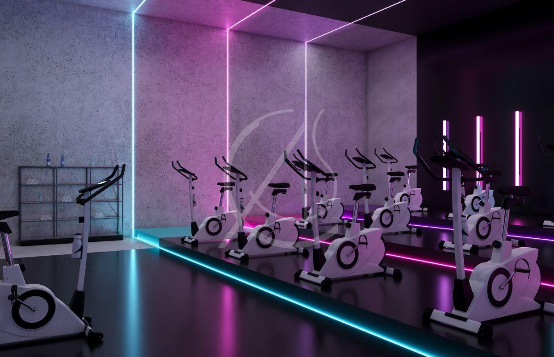 Business Plan Salle D Escalade ladies' fitness center interior design - riyadh, saudi