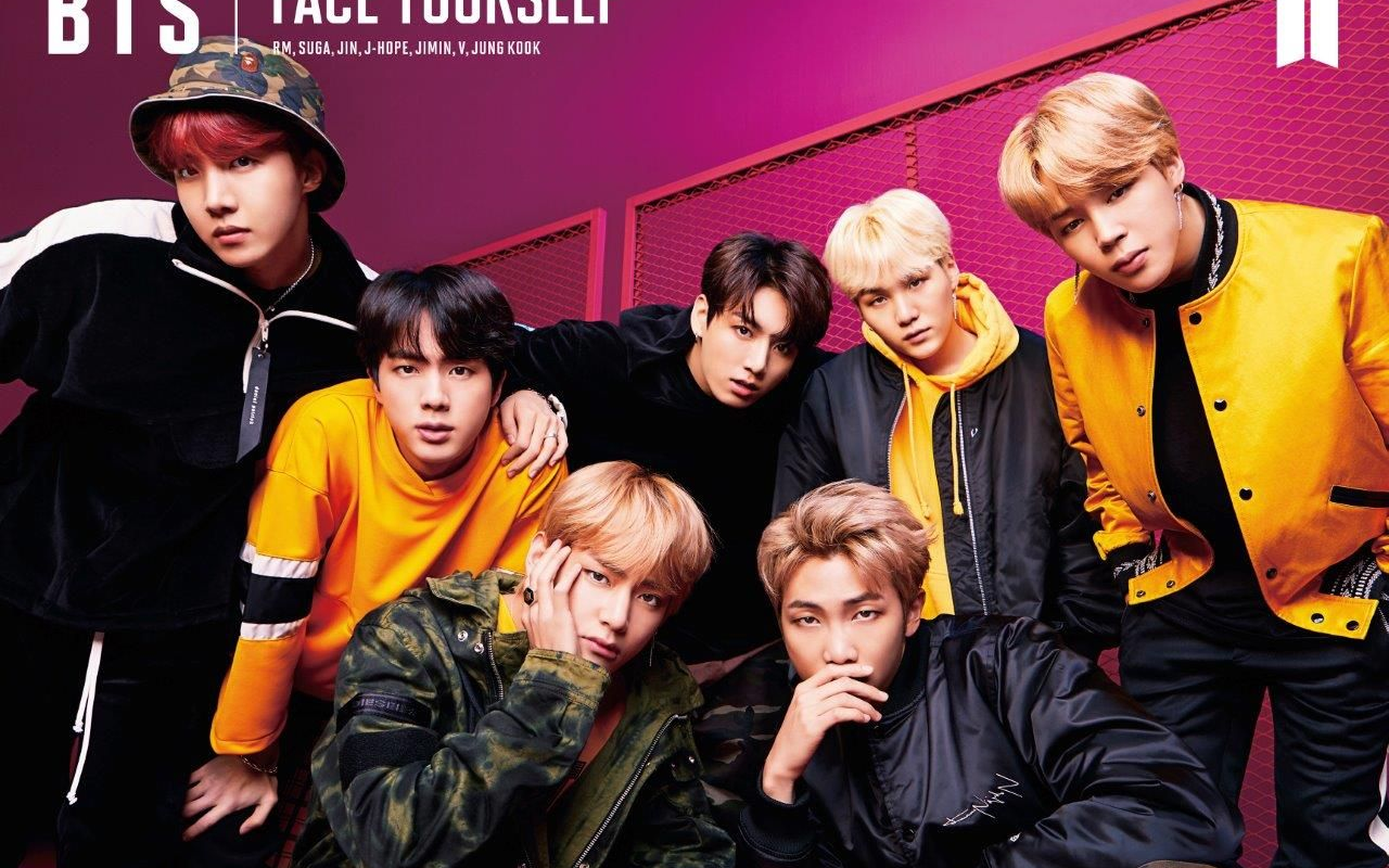 Download Face Yourself BTS for 4K Ultra HD 1610 Wallpaper