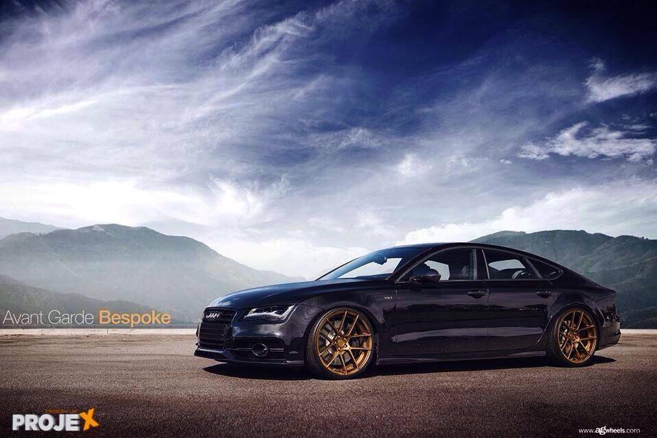 Pin By Can Efe On Cars Motorsports Black Audi Audi A7 Audi Sportback