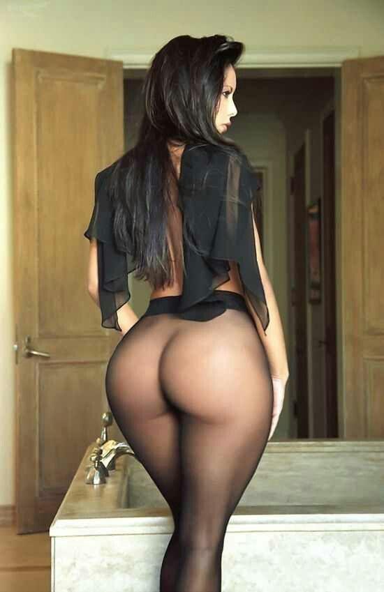 Big bottoms and pantyhose