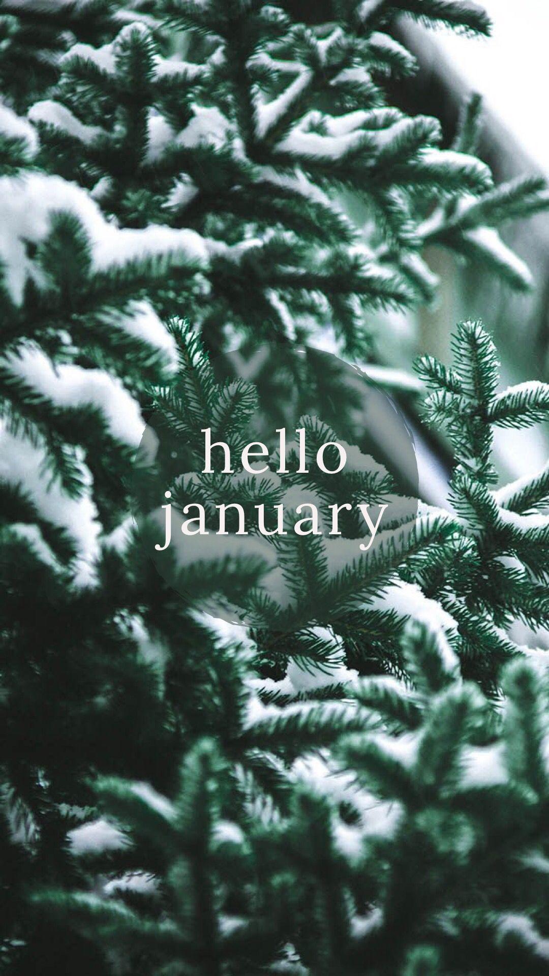 january wallpaper