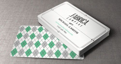 50 new and absolutely free business card templates psd fashion business card template retro business card with old fashioned fonts and diamond pattern reheart Images