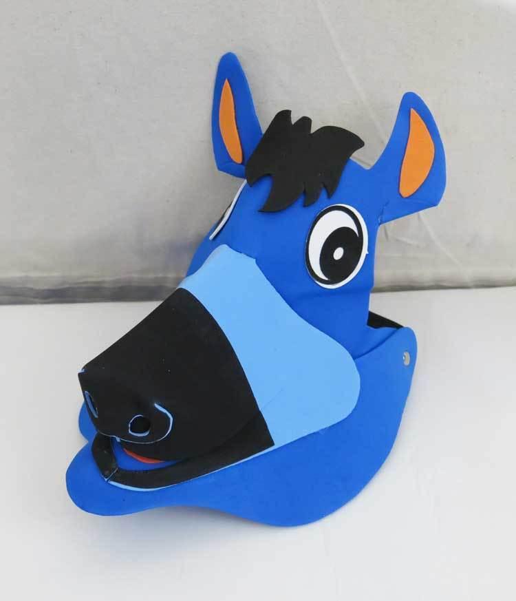 74865eb7 4.99AUD - Horse Animal Zoo Farm Jungle Foam Party Costumes Fancy Dress  Visor Hat Cap #ebay #Fashion