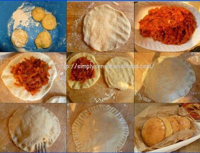 simply.food: Touarits ~Spicy stuffed Tunisian bread http://www.simplysensationalfood.com/2012/10/touarits-spicy-stuffed-tunisian-bread.html