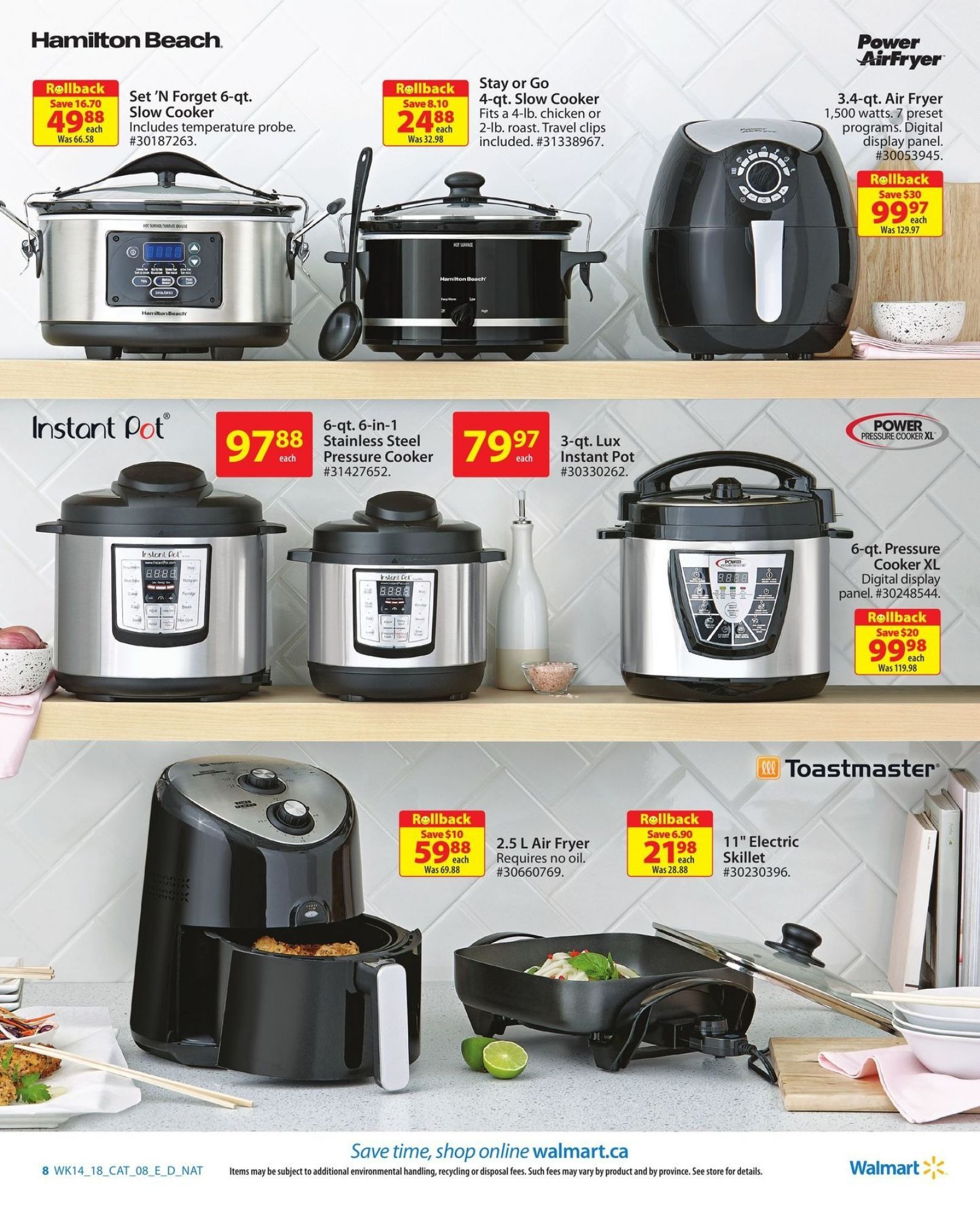 Flyer Walmart Homebook On Canada From Thursday April 26 2018