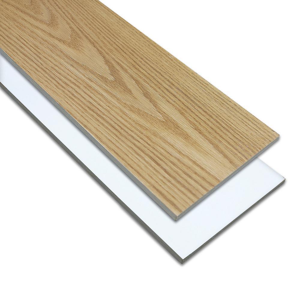 Stair Parts 5 16 In X 7 5 In X 48 In Red Oak And Primed   Home Depot Oak Stair Treads   Vinyl Plank Flooring   Vinyl Flooring   Wood   Unfinished Pine   Laminate Flooring