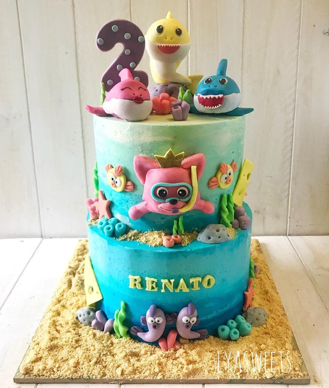 19++ Baby shark cake decorating kit ideas