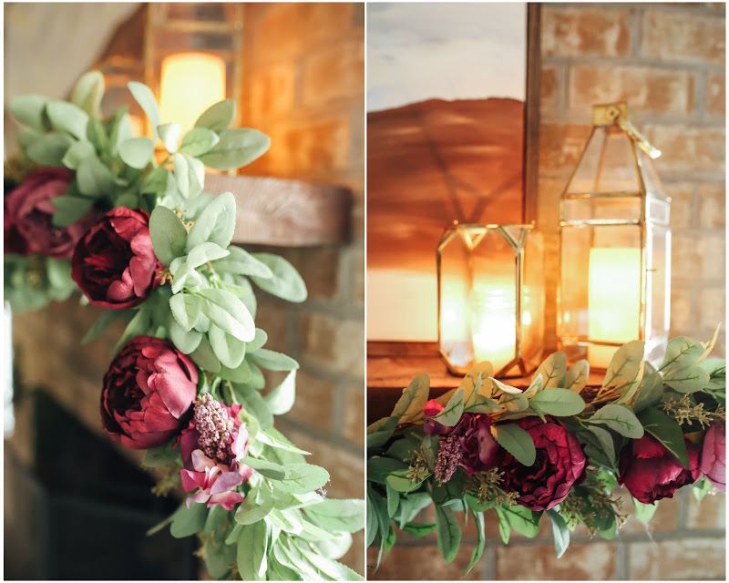 Use silk flowers to brighten up your mantle 3 afloral explore silk flowers mantle and more mightylinksfo