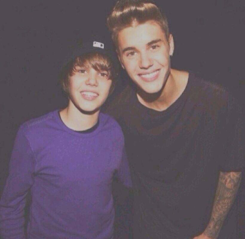 Justin just need to met himself! ❤️