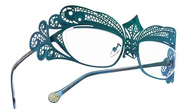 2c91c7e985a6 not for your daughter BOZ Usha Eyeglasses - This frame is inspired by a  dragonfly